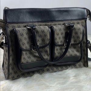 Authentic Dooney & Bourke Monogram Handbag